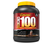 MUTANT PRO 100 PROTEINA WHEY PROTEIN LEAN MUSCLE 4 LBS CHOCOLATE